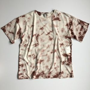 NEW F21 Short Sleeve Tie Dye Tshirt